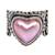 Cultured mabe pearl cocktail ring, 'Romance in Pink' - Romantic Heart Shaped Pink Cultured Mabe Pearl Ring (image 2b) thumbail
