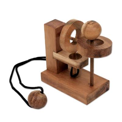 Hand Crafted Recycled Teakwood Executive Game from Java