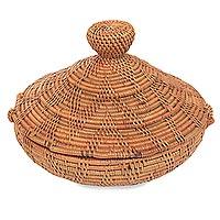 Natural fiber box,
