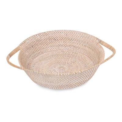 Handwoven Natural Fiber Basket from Lombok Island