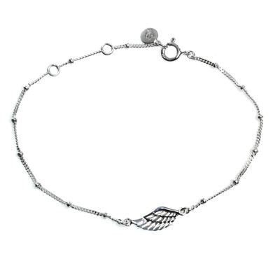 Handmade Sterling Silver Pendant Bracelet from Indonesia