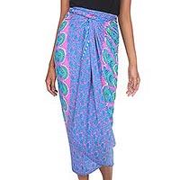 Rayon sarong,