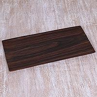 Wood tray,