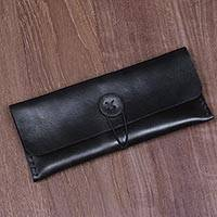 Leather multipurpose pouch,
