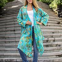 Rayon jacket,