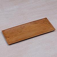 Teakwood tray,