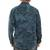 Men's cotton batik shirt, 'Ocean Shade' - Hand-stamped Batik Men's Collared Balinese 100% Cotton Shirt (image 2c) thumbail