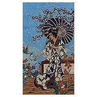 Batik painting,
