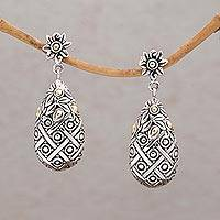 Gold accented sterling silver dangle earrings Passion Berries (Indonesia)