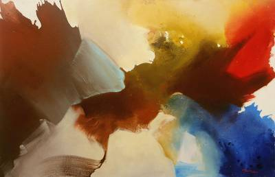 Abstract Original Dreaming of Flight Theme Painting