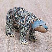 Featured review for Polymer clay sculpture, Mother Polar Bear