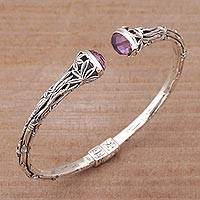 Featured review for Amethyst cuff bracelet, Bedugul Bamboo