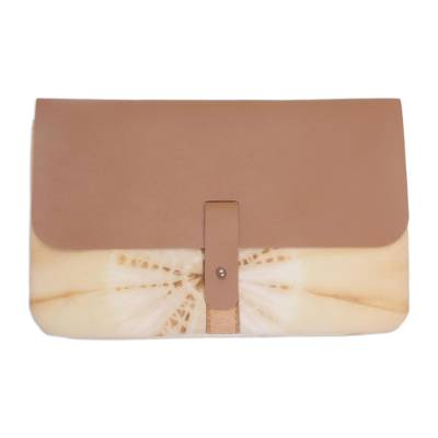 Cotton Clutch Handbag from Indonesia