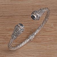 Blue topaz cuff bracelet Regal Rope (Indonesia)