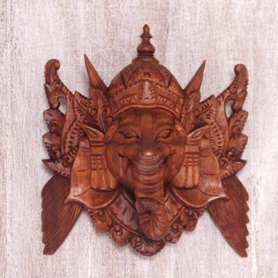 Wood mask, Great Ganesha