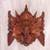 Wood mask, 'Great Ganesha' - Hand Carved Suar Wood Ganesha Wall Mask from Indonesia thumbail