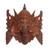 Wood mask, 'Great Ganesha' - Hand Carved Suar Wood Ganesha Wall Mask from Indonesia (image 2a) thumbail