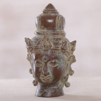 Bronze statuette, The Almighty Shiva