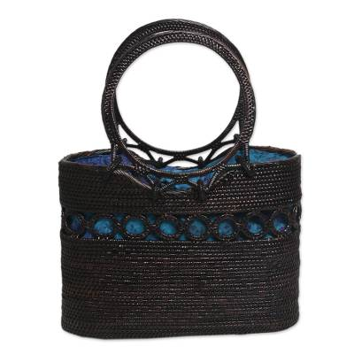 Handcrafted Balinese Ate Grass Lombok Handle Handbag