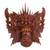 Wood mask, 'Queen Rangda' - Hand Carved Suar Wood Wall Mask from Indonesia (image 2a) thumbail