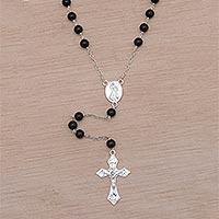 Onyx rosary,