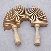 Wood percussion instrument, 'Joyous Melody' - Hand Carved Wood Percussion Instrument from Bali