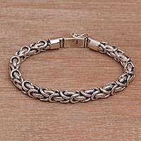Featured review for Sterling silver chain bracelet, Feminine Line