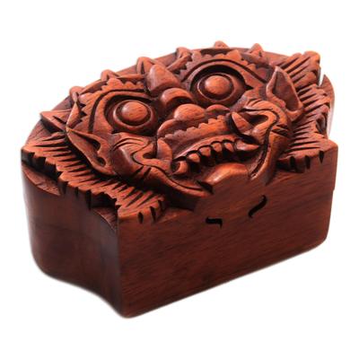 Bhoma Suar Wood Puzzle Box from Bali