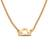 Gold plated sterling silver pendant necklace, 'Golden Libra' - 18k Gold Plated Sterling Silver Libra Pendant Necklace (image 2a) thumbail