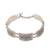 Sterling silver link bracelet, 'Balinese Wall' - Sterling Silver Link Bracelet Crafted in Java (image 2a) thumbail