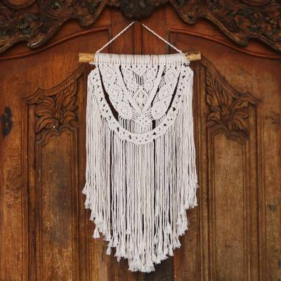 Cotton wall hanging, Tegalalang Knot