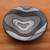 Ceramic decorative bowl, 'Wavy Modernity' - Modern Ceramic Decorative Bowl from Bali (image 2b) thumbail