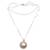 Cultured pearl pendant necklace, 'Glowing with Love' - White Cultured Pearl Pendant Necklace from Bali (image 2a) thumbail