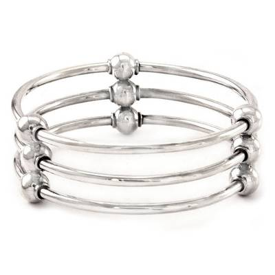 Sterling Silver Bangle Bracelet from Indonesia