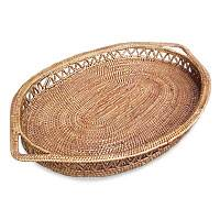 Ate grass serving tray,