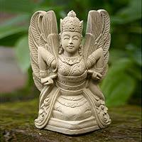 Sandstone statuette,