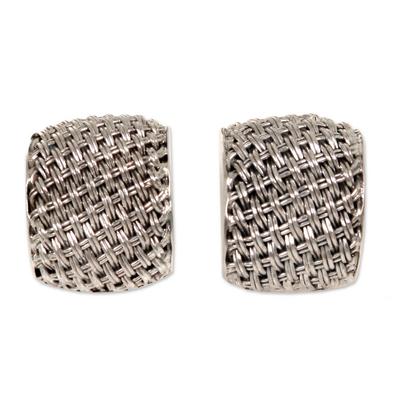 Sterling Silver Modern Earrings