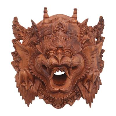 Indonesian Cultural Wood Mask