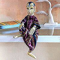 Wood display doll,