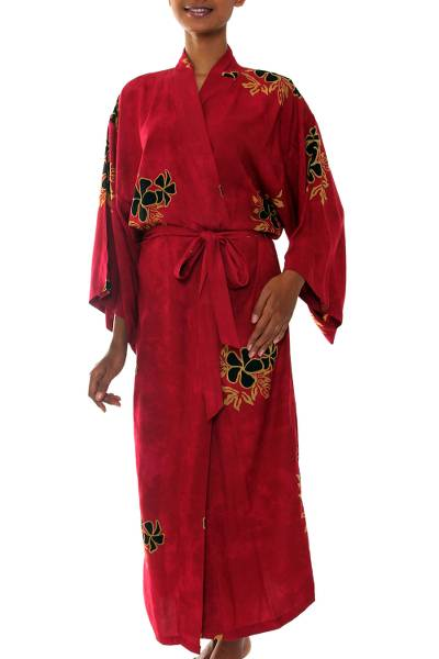 Hand Made Batik Robe from Indonesia