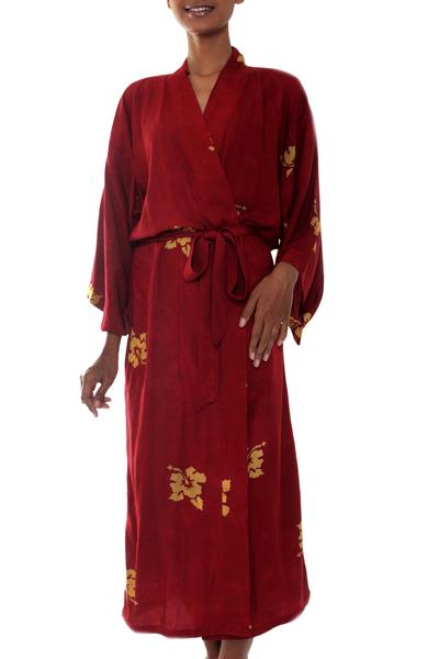 Handmade Batik Robe
