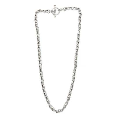 Artisan Jewelry Sterling Silver Necklace