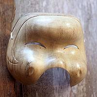 Wood mask, 'Village Girl'