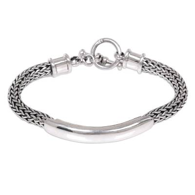 Sterling Silver Chain Bracelet from Indonesia