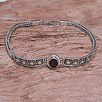 Featured review for Garnet pendant bracelet, Cosmic Story