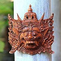 Wood mask, 'Rahwana, King of Alengka' - Wood mask
