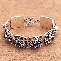 Amethyst bracelet,