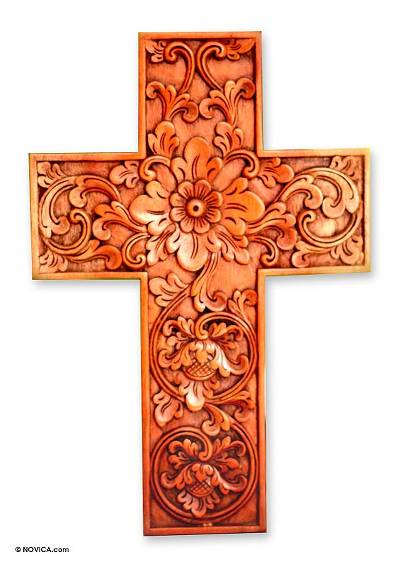 Mahogany cross