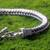 Men's sterling silver braid bracelet, 'Dragon Braid' - Sterling Silver Link Bracelet from Indonesia (image 2c) thumbail