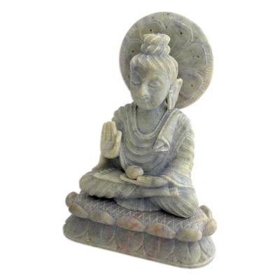 Natural Soapstone Sculpture from India
